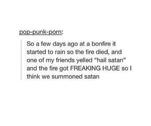 funny, satan, and scary image