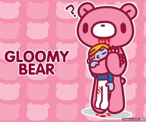 gloomy bear and wallpaper image