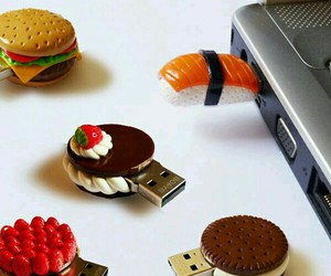 food and usb image