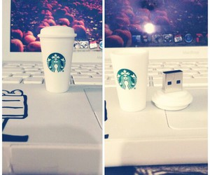 starbucks and usb image