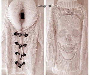 clothes and skull image