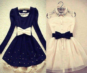 dress, clothes, and white image