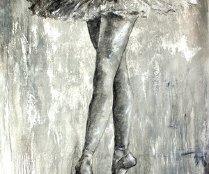 amazing, ballerina, and art image