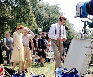 Colin Firth, woody allen, and magic in the moonlight image