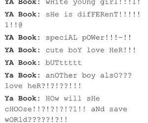 young adult and books image