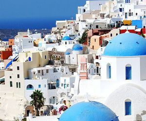 Greece, beautiful, and santorini image