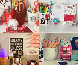 decoracao, mesa, and escrivaninha image