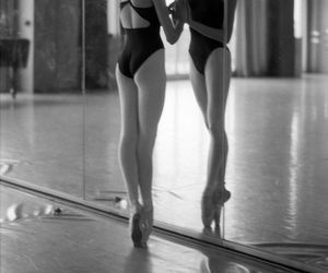 ballet, dance, and mirror image