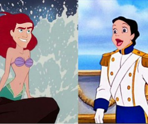 disney, funny, and ariel image