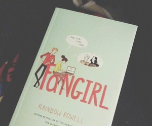 books, fangirl, and rainbow rowell image