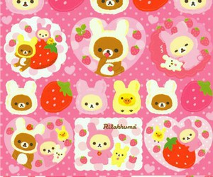 rilakkuma, wallpaper, and fondo image