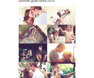 goals, summer, and love image