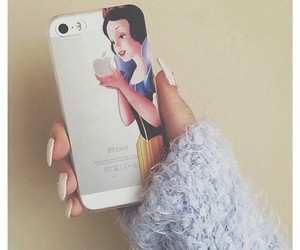 apple, iphone, and snow white image