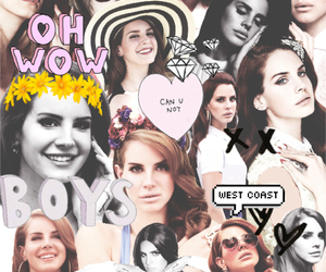 lana del rey, Collage, and tumblr image