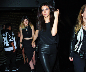 kendall jenner, kylie jenner, and model image