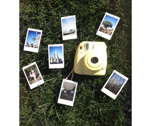 picture, outside, and polaroid image