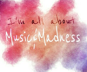 color, madness, and music image