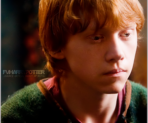 ron weasley, harry potter, and ron image