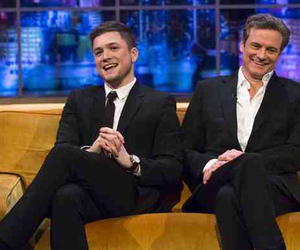 actors, Colin Firth, and taron egerton image