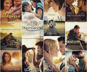 nicholas sparks, books, and movies image