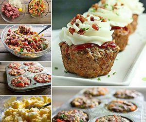 diy meatloaf cupcakes image