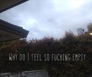 alone, dark, and empty image
