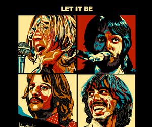 john lennon, Paul McCartney, and portrait image