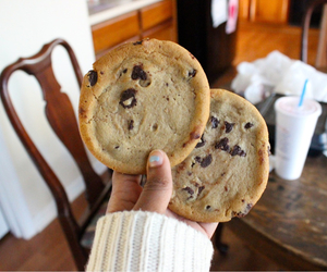 Cookies, food, and tumblr image