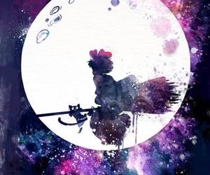 anime, studio ghibli, and witch image