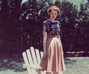 vintage, fashion, and girl image