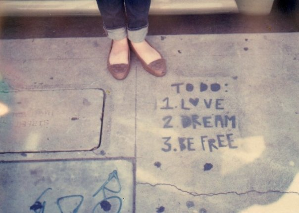 love, Dream, and be free image
