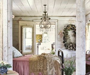 decor, design, and shabby chic image