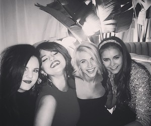 selena gomez, Nina Dobrev, and friends image