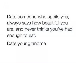 funny, grandma, and date image