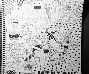 art, doodle, and fun image