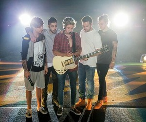 on stage, love, and one direction image