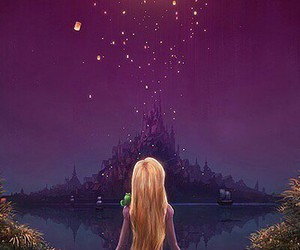 disney, light, and rapunzel image