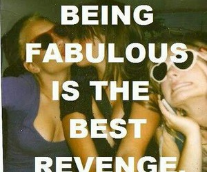 fabulous, revenge, and quote image