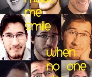 smile and markiplier image