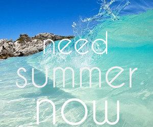 summer, sea, and sun image
