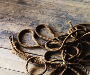 rope, sea, and pirate image