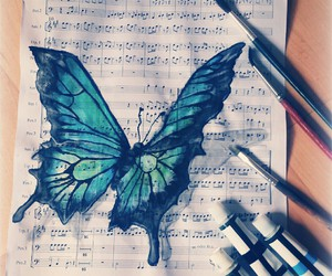 butterfly, art, and beautiful image