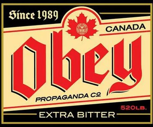 canada, obey, and propaganda image