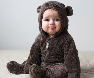 baby, bear, and sweet image
