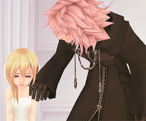namine and marluxia image