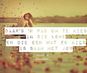 afrikaans, liefde, and pad image