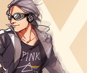 quicksilver, evan peters, and peter maximoff image