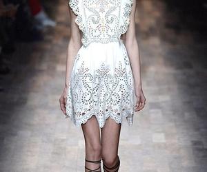 dress, fashion, and pattern image