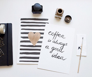 coffee and quote image