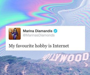 girl, internet, and marina and the diamonds image